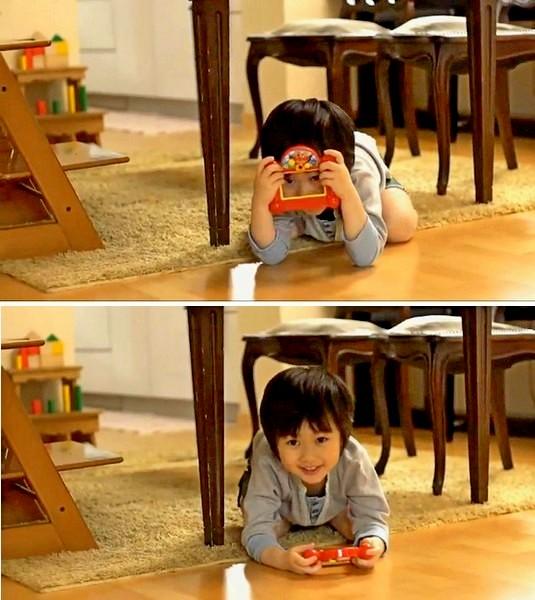 Anpanman First Digital Camera, первый фотоаппарат для маленьких детей