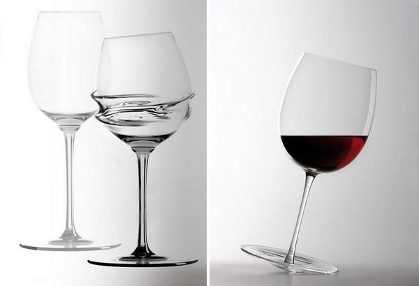 Дизайнерские бокалы Calici Caratteriali от Gumdesign