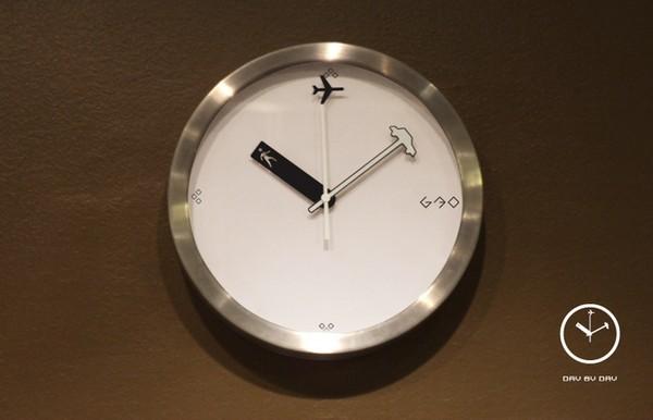 Каждый день одно и то же. Часы Day by Day от китайских дизайнеров