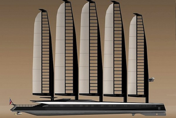 Emax E-Volution – парусник-гибрид за 40 миллионов долларов