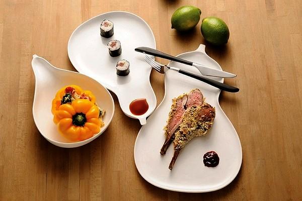 Вдохновение сушеной тыквы. Hulu serveware, традиционная фарфоровая посуда