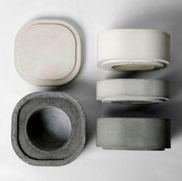 Модульная ваза разбирается на отдельные *черепки* с крышечкой
