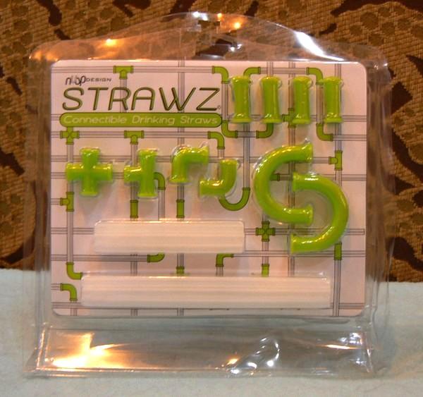 Strawz от NuOp Design, конструктор-трубочка для напитков