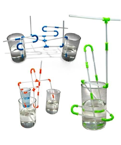 Конструктор-трубочка для детей и взрослых. Strawz от NuOp Design