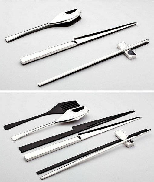 Дизайнерская посуда Trace of Shadow от Kijtanes Kajornrattanadech