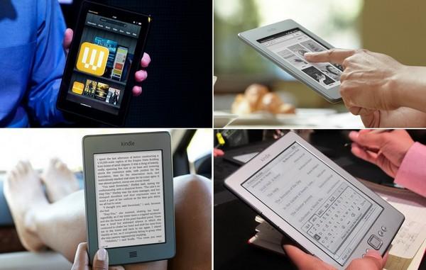 Новые девайсы Kindle от Amazon