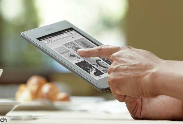 Новая читалка Kindle Touch