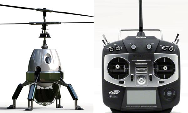 Защита от вредителей с помощью игрушечного вертолета