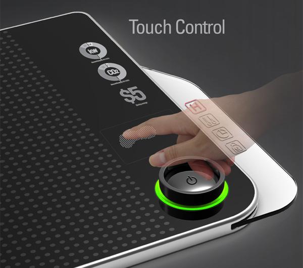 Электроплитка мечты: сенсорный экран изменит форму конфорки