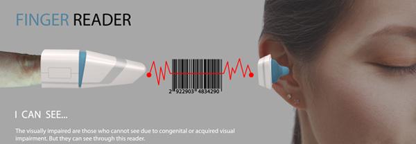 Сканер штрихкодов для слепых