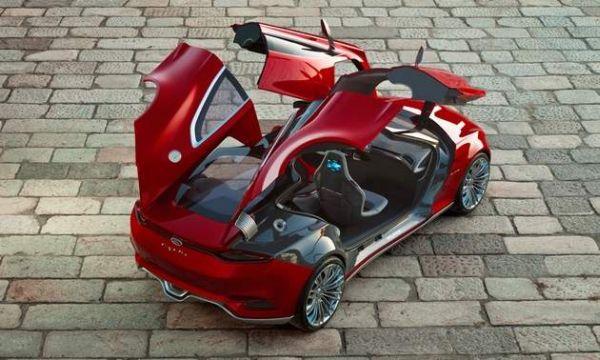 Ford Evos – автомобиль-дворецкий