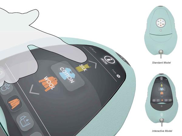 Сенсорный экранчик утюга