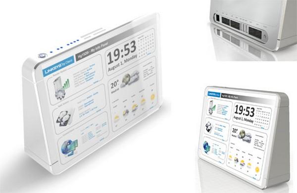 Linksys Home Multimedia Router – мультимедийный домашний роутер недалекого будущего