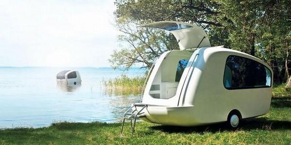 Sealander Amphibious – плавающая палатка на колесах!