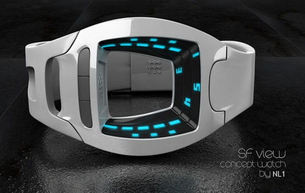 Время фантастики: часы SF View