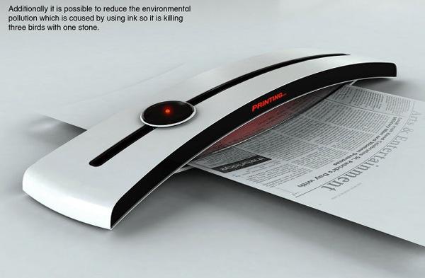 Новый способ печати: солнечный принтер