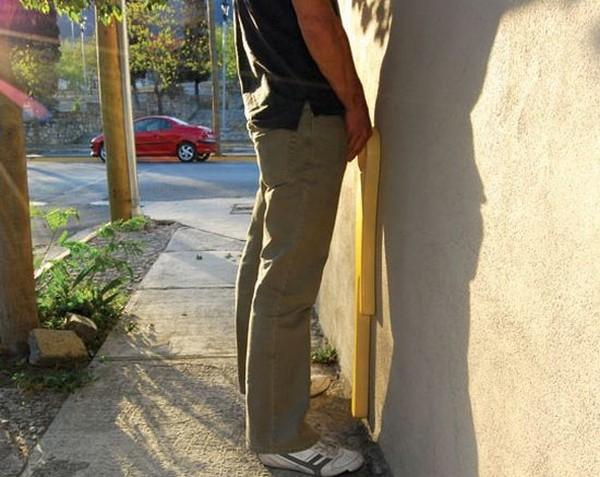 Public Urinal, настенный биотуалет для мужчин
