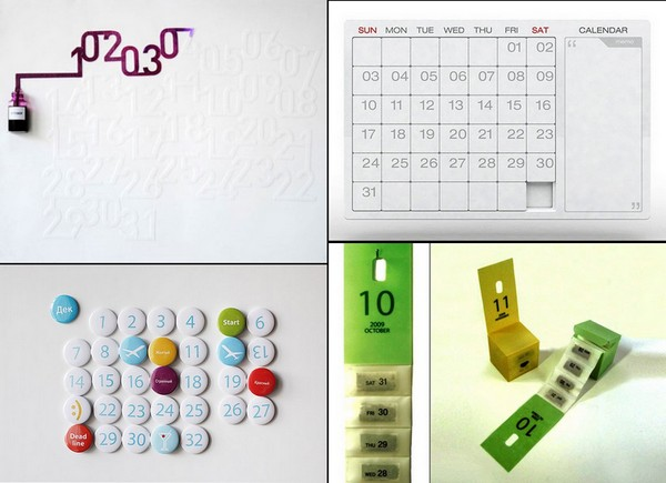 ТОП-10 необычных календарей