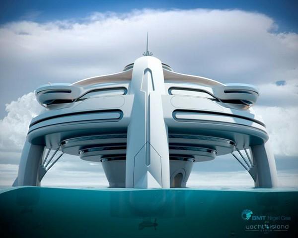 Большая яхта будущего: Utopia