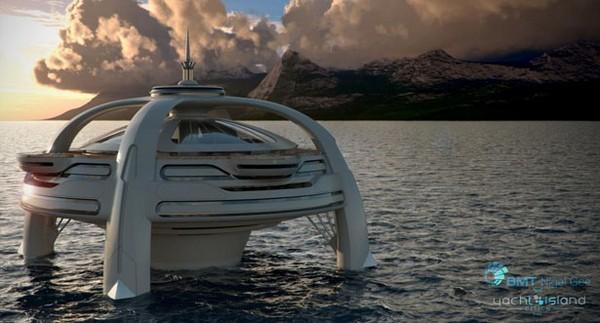 Большая яхта Utopia