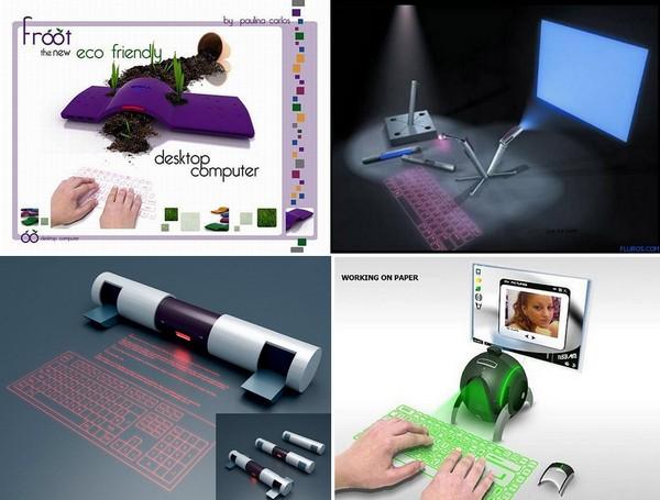 Виртуальные лазерные клавиатуры: обзор