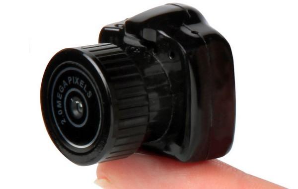 Самая маленькая фотокамера