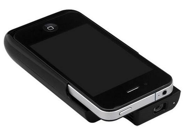 Чехол для iPhone с проектором и аккумулятором