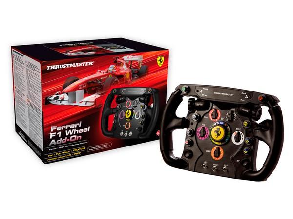 Thrustmaster Ferrari F1 Wheel Add-On – игровой руль от болида Ferrari