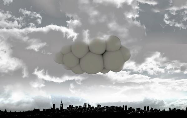 Passing Cloud, общественный транспорт будущего в виде облака