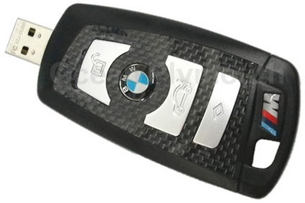 Флешка в виде ключа от BMW