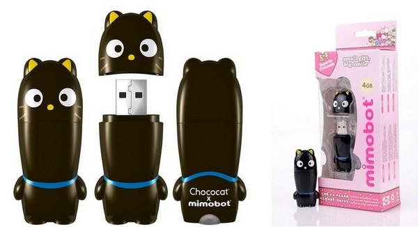 Chococat, флешка к 50-летнему юбилею бренда Hello Kitty
