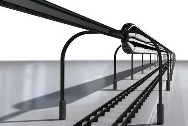 Монорельс Eco Drive Monorail, который экономит место