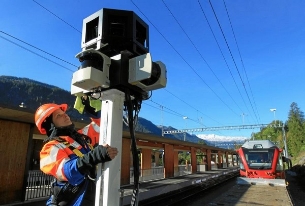 Швейцарская Ретийская железная дорога появится в Google Street View