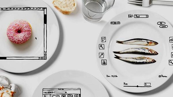 iPlate Series, посуда для *редактирования* еды