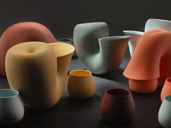 Фарфоровая посуда Jug&Cup от Aldo Bakker