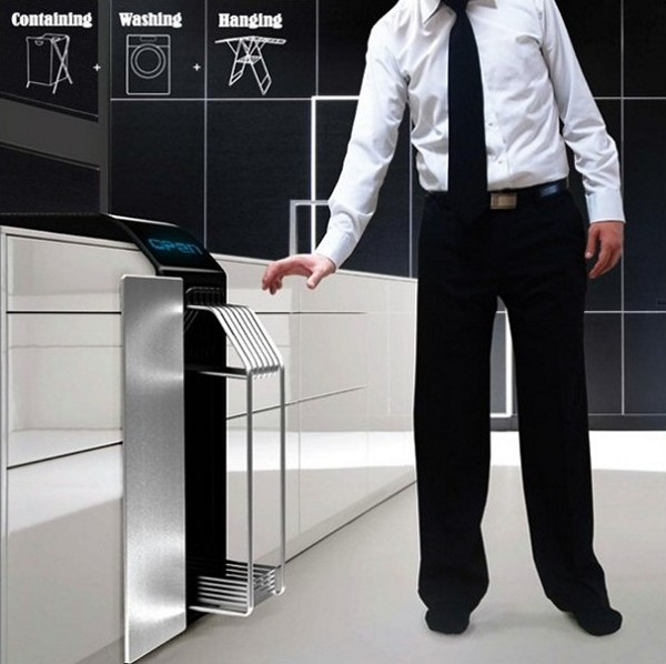 Almighty Laundry, стиральная машинка для холостяка