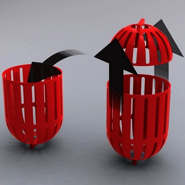 Eco Pod маленькая экологическая стиральная машинка