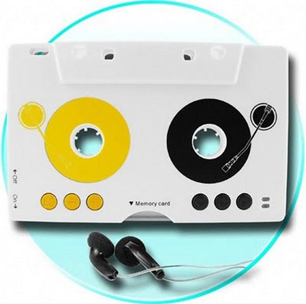 Cassette Tape MP3 Player. Современный плеер в виде ретро-девайса