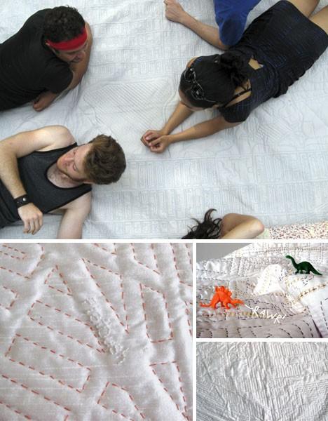 Soft Maps, мягкие карты в виде покрывал и ковров