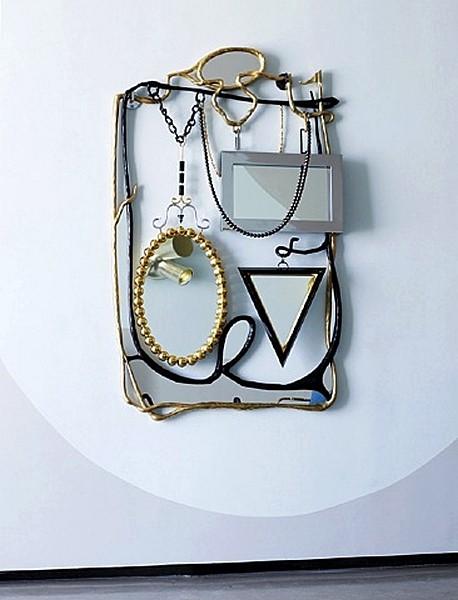 Почти арт-инсталляция: художественный дизайн зеркала Bazaar Mirror для украшения интерьера