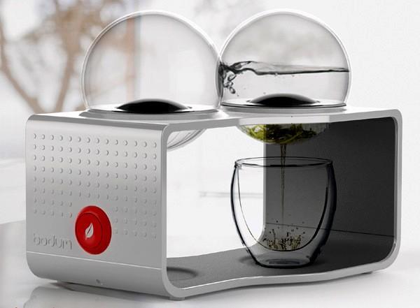 Установка Bodum Coffee & Tea Maker. Чайник и кофеварка в одном устройстве