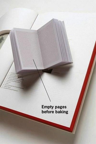 Изначально листы в книге абсолютно белые