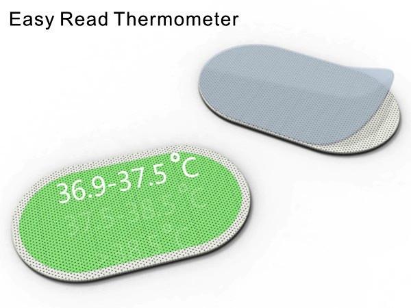 Easy Read Thermometer, липкий термометр-пластырь для самых маленьких