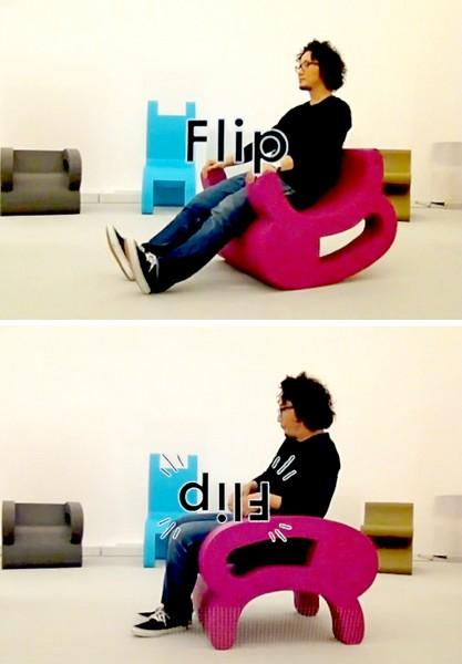 Двусторонние стулья-перевертыши Flip Series Chairs