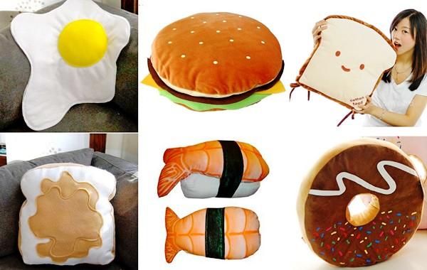 Обзор аппетитных подушек для гурманов