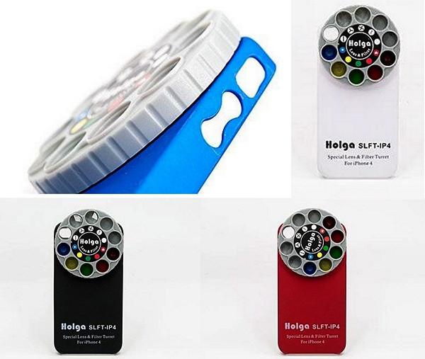Чехол Holga iPhone Lens с набором сменных линз для ломографии
