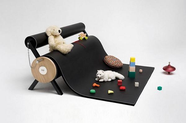 Karpett, многофункциональный коврик от студии 5.5 designers