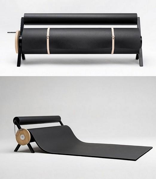 Karpett, коврик, заменяющий мебель, от студии 5.5 designers