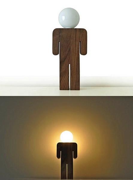 Светильник-мальчик Lightboy от Рикардо Гарса Маркоса