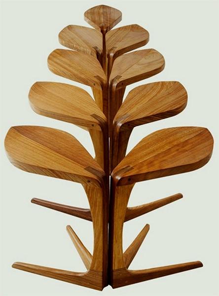 Необычный стол в виде цветка от Vogel Living Design